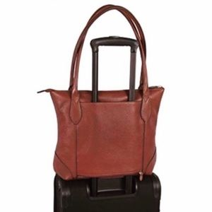 WAS $49! LODIS LEATHER TOTE